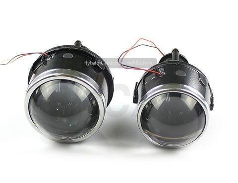 micro hybrid bi xenon projector fog light universal kit