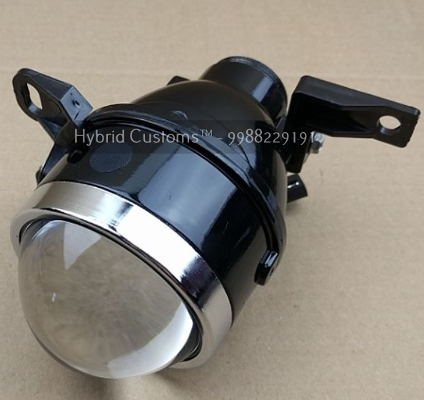 micro hybrid pro bi xenon projector fog light universal kit