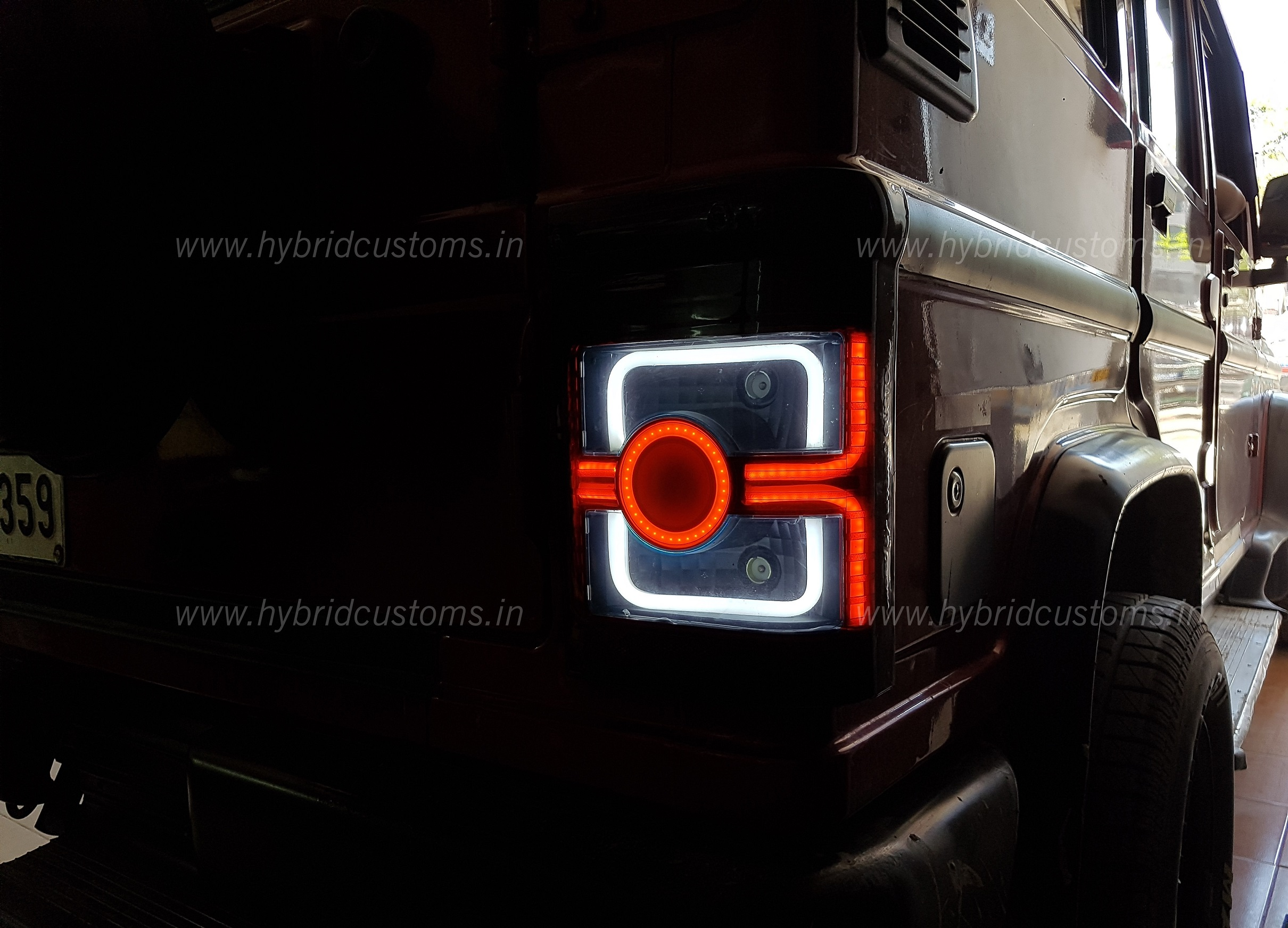 www.hybridcustoms.in/mahindra-bolero-led-tail-lamp/