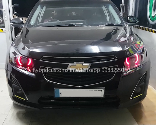 Hybrid Customs Chevrolet Cruze Camaro Style Projector